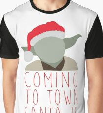 Yoda Claus Graphic T-Shirt