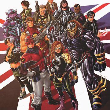 Marvel UK by xfan84