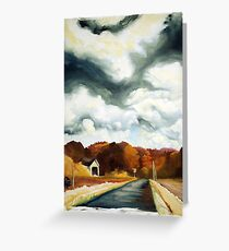 overcast in oregon. Greeting Card