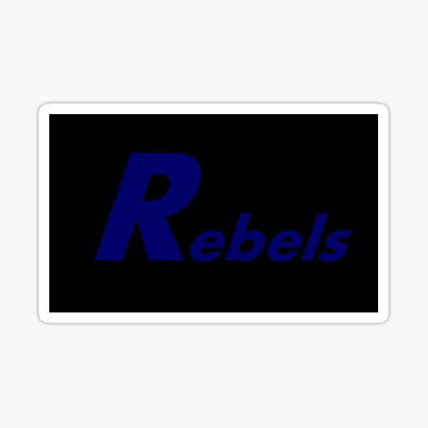 Rebel Mask Sticker