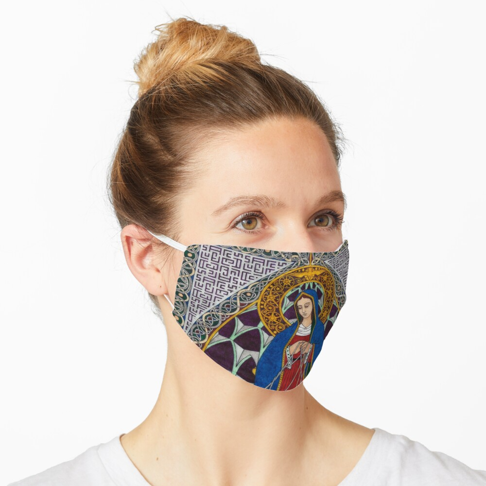 Our Lady Undoer of Knots Mask