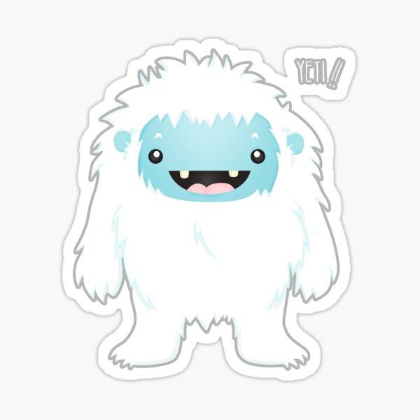 Yeti !! Sticker
