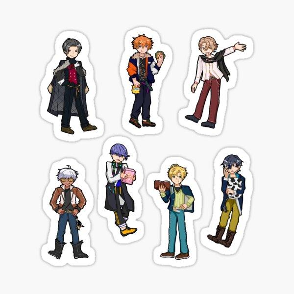 L'ensemble des 7 frères Sticker
