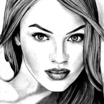 Candice Swanepoel Sketch by tiffany8433