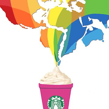 Starbucks Pop Art  by tiffany8433
