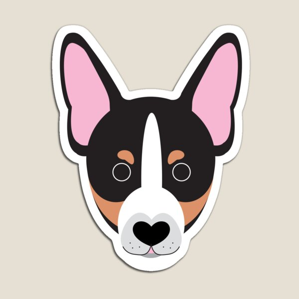 Miniature fox terrier foxie Magnet