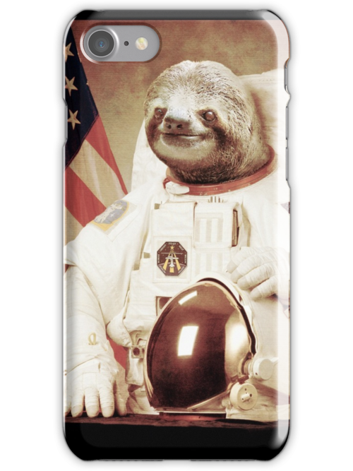 Astronaut Sloth by BakusPT