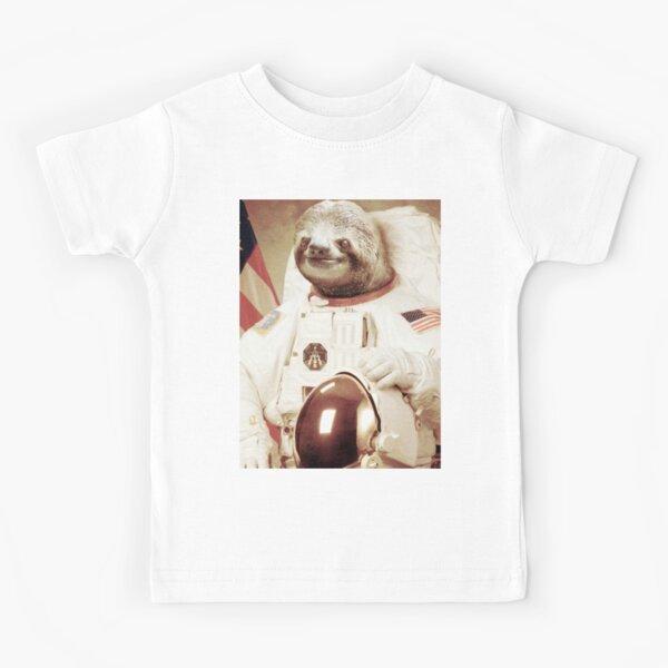 Paresseux astronaute T-shirt enfant
