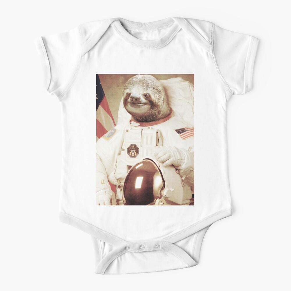 Astronaut Sloth Baby One-Piece