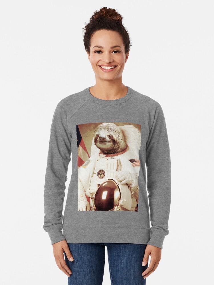 Vista alternativa de Sudadera ligera Astronauta Sloth