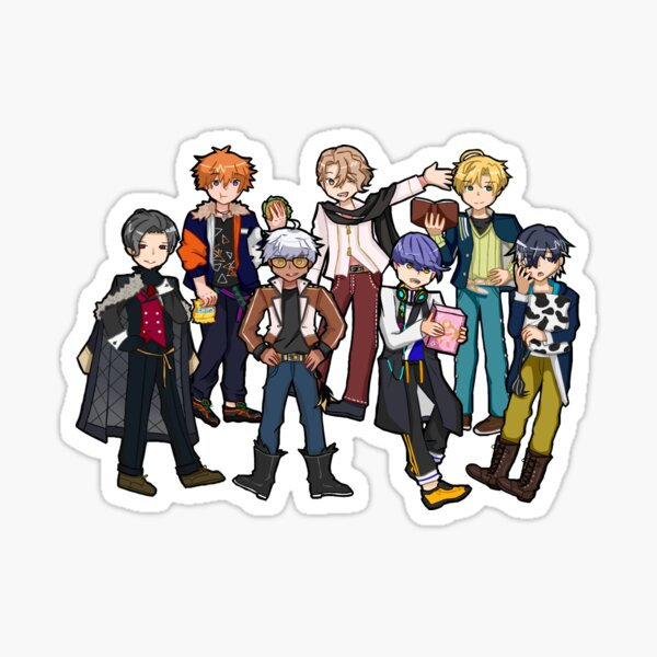 The 7 Brothers Group Sticker