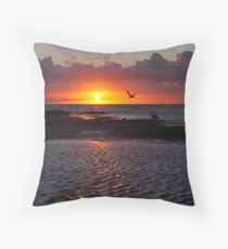 Sunset at Ricketts Point  Throw Pillow