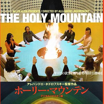 Holy Mountain Poster by SenorFreshco