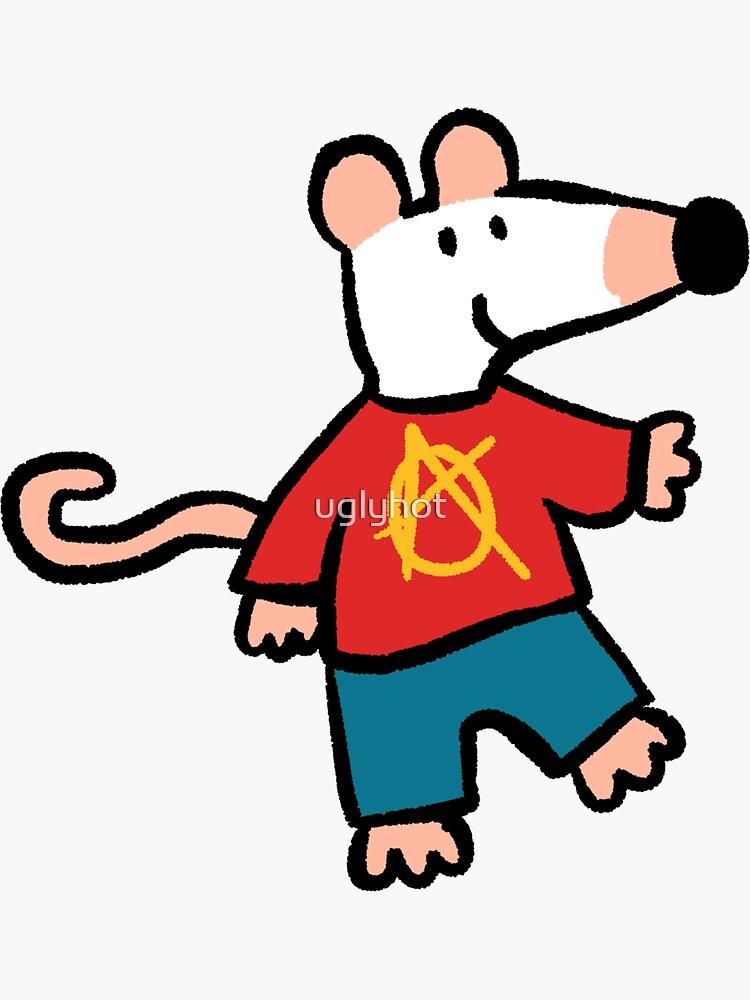 Anarchy Maisy Mouse by uglyhot