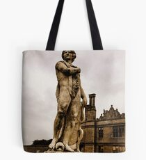 Statue at Kirby Hall Tote Bag
