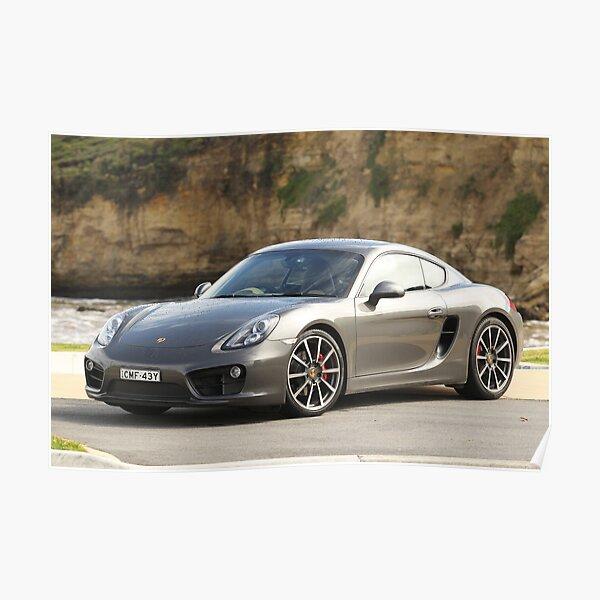 Porsche Cayman S — Great Ocean Road — 2013 Poster