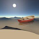 desert ship by Vin  Zzep