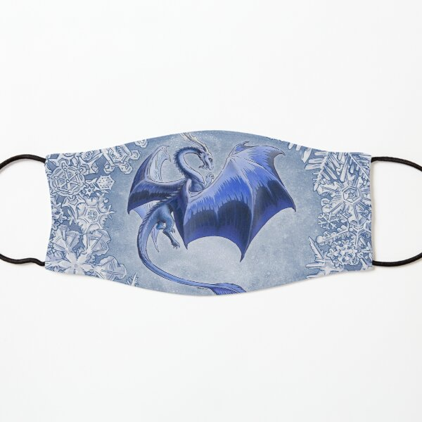 The Dragon of Winter Kids Mask