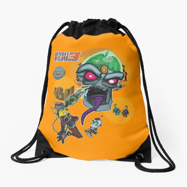Ratchet and Clank 3 Alt  Drawstring Bag