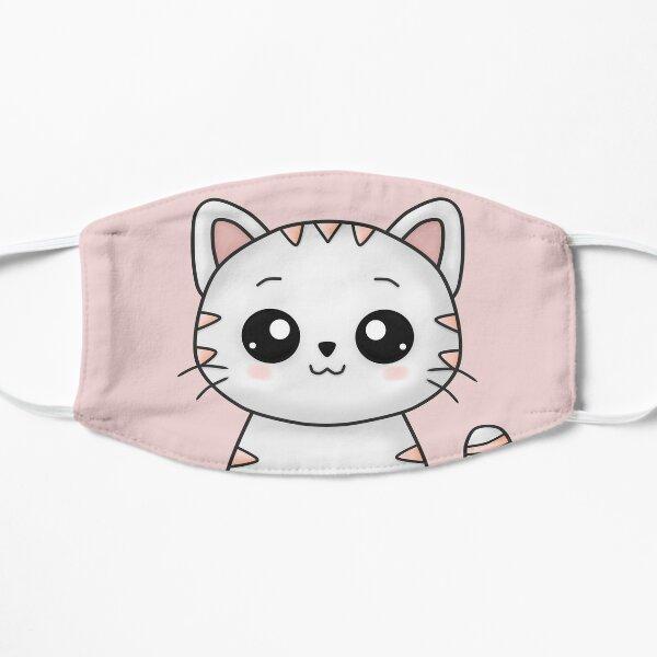 Stripes Cat Flat Mask