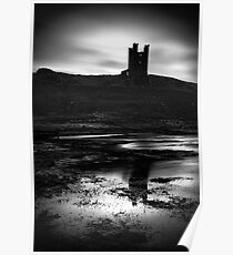 Dunstanburgh Castle, Northumberland, UK Poster
