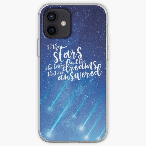 To the stars who listen and the dreams that are answered - ACOMAF iPhone Soft Case