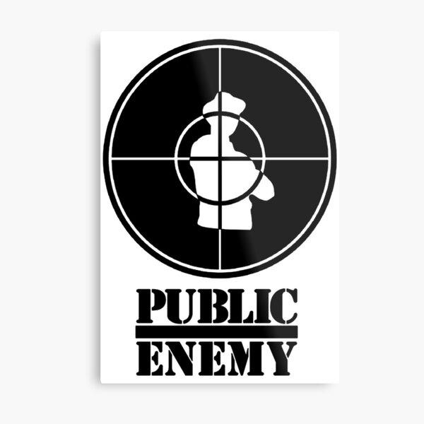 Enemy Music Metal Print