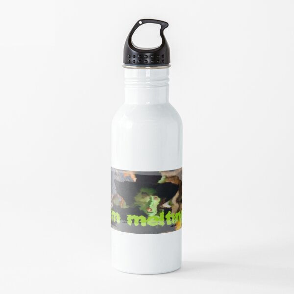 I'm Melting Witch Humor Halloween: Melting Witch Water Bottle