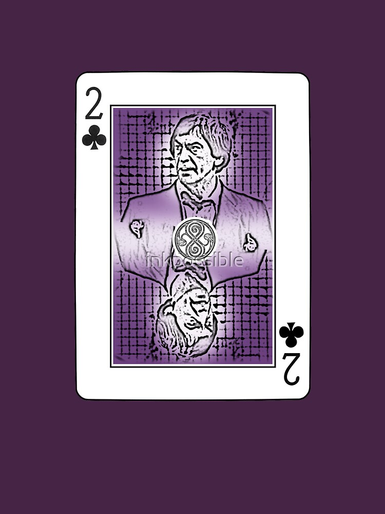 Troughton sticker Card by inkpossible