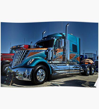 2013 International Semi Truck Southern Pride Poster