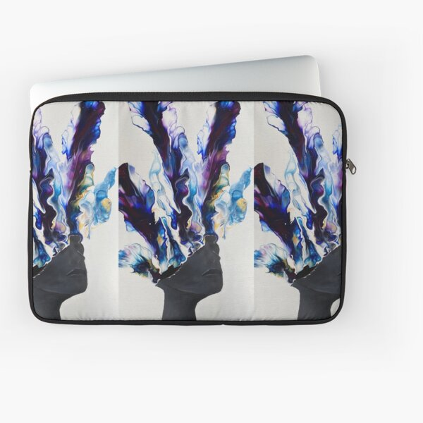 BLOOMING MIND - Acrylic Dutch Pour Painting Laptop Sleeve