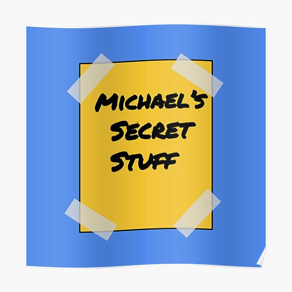 Cosas secretas de MJ l SPACE JAM Póster