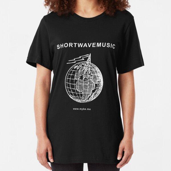 ShortWaveMusic Slim Fit T-Shirt