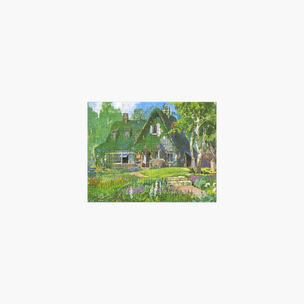 Kiki's Delivery Service Cottagecore Vibes Jigsaw Puzzle