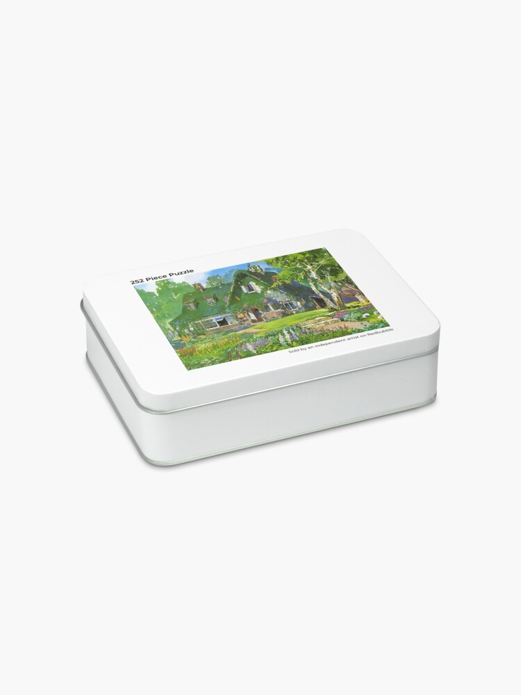 Alternate view of Kiki's Delivery Service Cottagecore Vibes Jigsaw Puzzle
