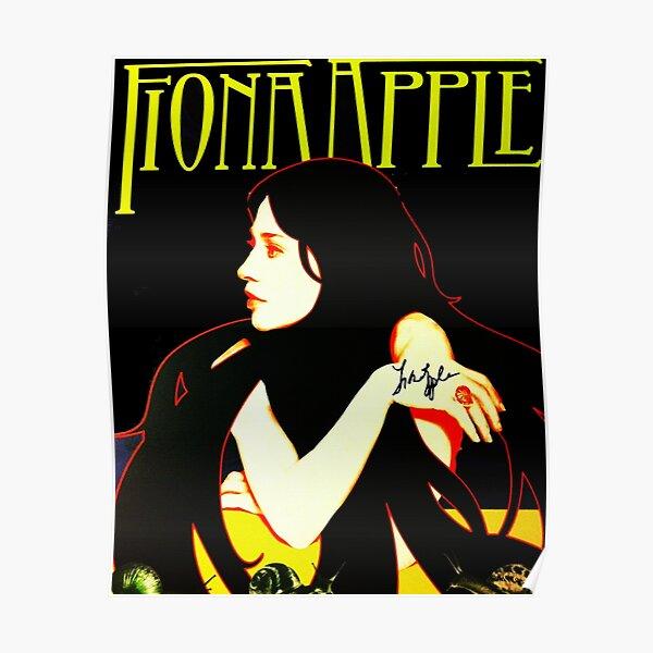 Best Selling Singer Fiona Woman Beauty Apple Trending Smewew Music International Poster