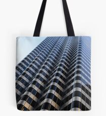 looking to the top of a building in San Fransisco Tote Bag