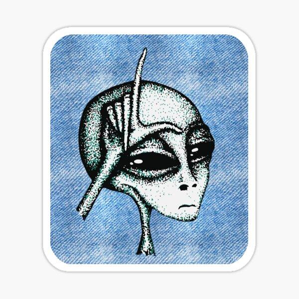 Soft Loser Alien Sticker
