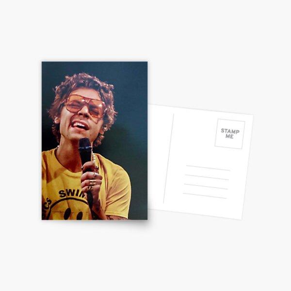 Harry Singing Postcard