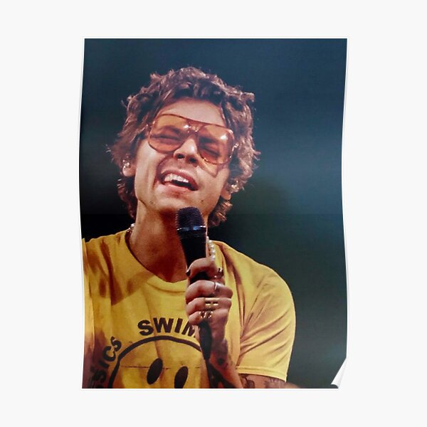 Harry Singing Poster