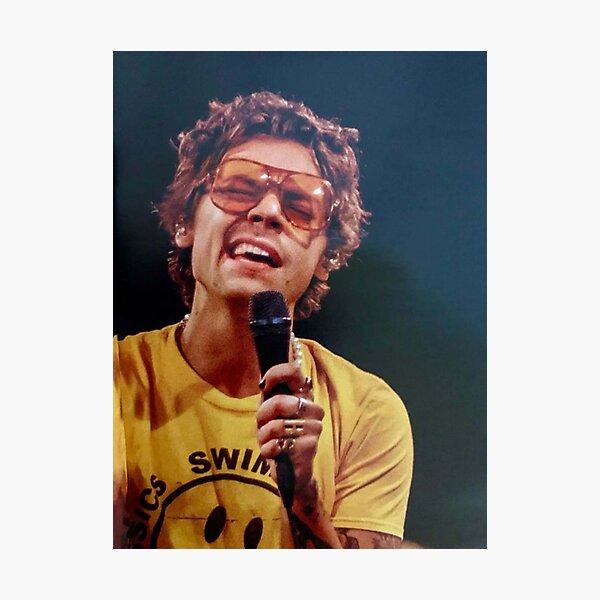 Harry cantando Lámina fotográfica