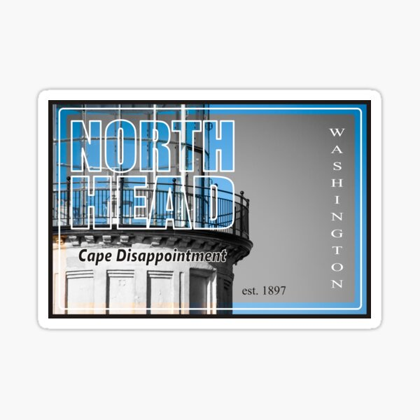 North Head Stamp Sticker