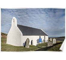Church at Mwnt, Cardigan  Poster