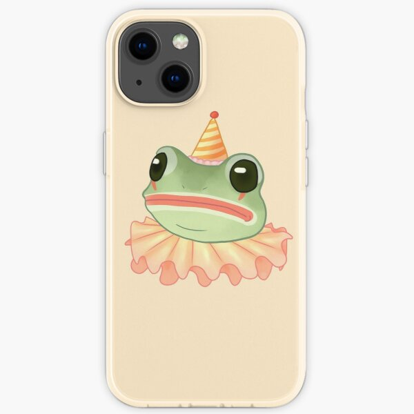 Clown Frog iPhone Soft Case