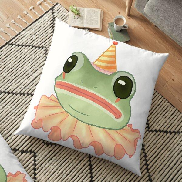 Clown Frog Floor Pillow