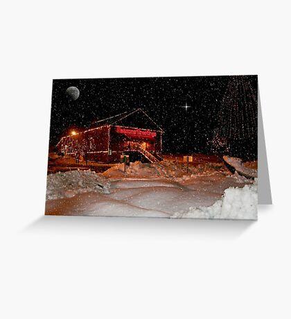 Christmas Lights Greeting Card
