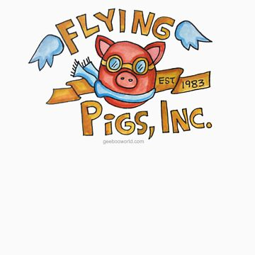 Flying Pigs, Inc. by ArtByHeather