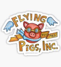 Flying Pigs, Inc. Sticker