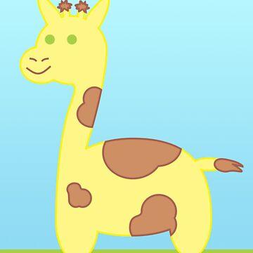 Baby Giraffe by CraftMonsters