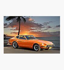 1971 Datsun 240Z 'The Legend Begins' Photographic Print